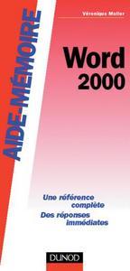AIDE-MEMOIRE WORD 2000