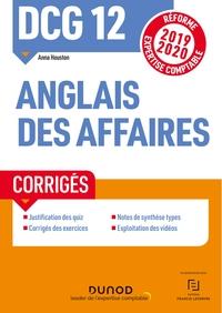 DCG 12 - ANGLAIS DES AFFAIRES - CORRIGES - REFORME 2019-2020 - REFORME EXPERTISE COMPTABLE 2019-2020