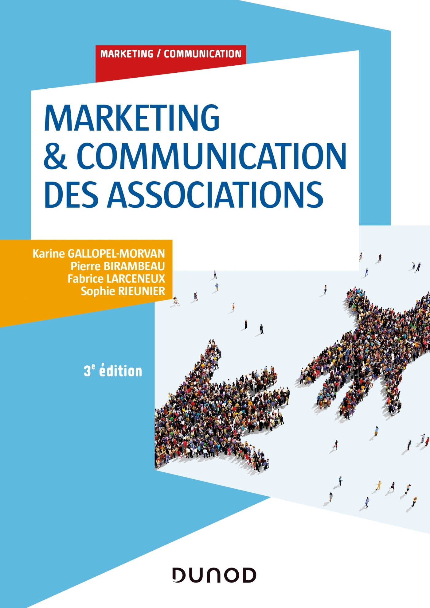 MARKETING & COMMUNICATION DES ASSOCIATIONS - 3E ED.