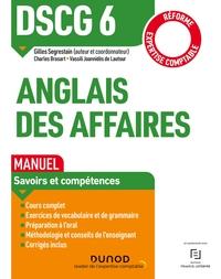 DSCG 6 - EPREUVE ORALE D'ECONOMIE - T01 - DSCG 6 - ANGLAIS DES AFFAIRES - MANUEL - REFORME  2019/202