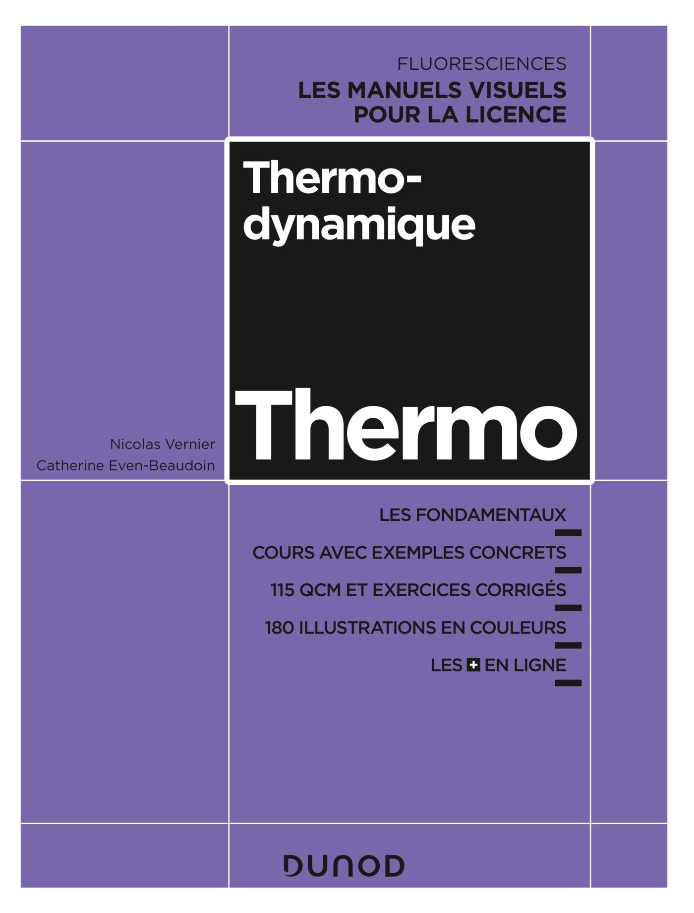 THERMODYNAMIQUE - COURS, EXERCICES ET METHODES