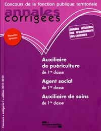 ANNALES CORRIGEES N 24 AUXILIAIRE DE PUERICULTURE/SOINS / AGENT SOCIAL 2011-20