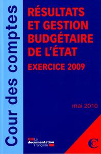 RESULTATS ET GESTION BUDGETAIRE DE L'ETAT- EXERCICE 2009 - MAI 2010