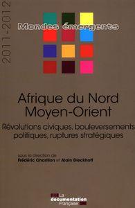 AFRIQUE DU NORD - MOYEN-ORIENT 2011-2012 - REVOLUTIONS CIVIQUES, BOULEVERSEMEN