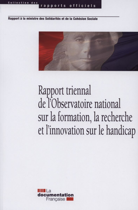 RAPPORT TRIENNAL DE L'OBSERVATOIRE NATIONAL SUR LA FORMATION, LA RECHERCHE ET