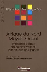 AFRIQUE DU NORD - MOYEN-ORIENT 2012-2013 - PRINTEMPS ARABE