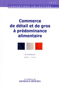 COMMERCE DE DETAIL ET DE GROS A PREDOMINANCE ALIMENTAIRE N 3305 2011