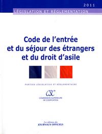 CODE DE L'ENTREE ET DU SEJOUR DES ETRANGERS ET DU DROIT D'ASILE N 020055 - EDI