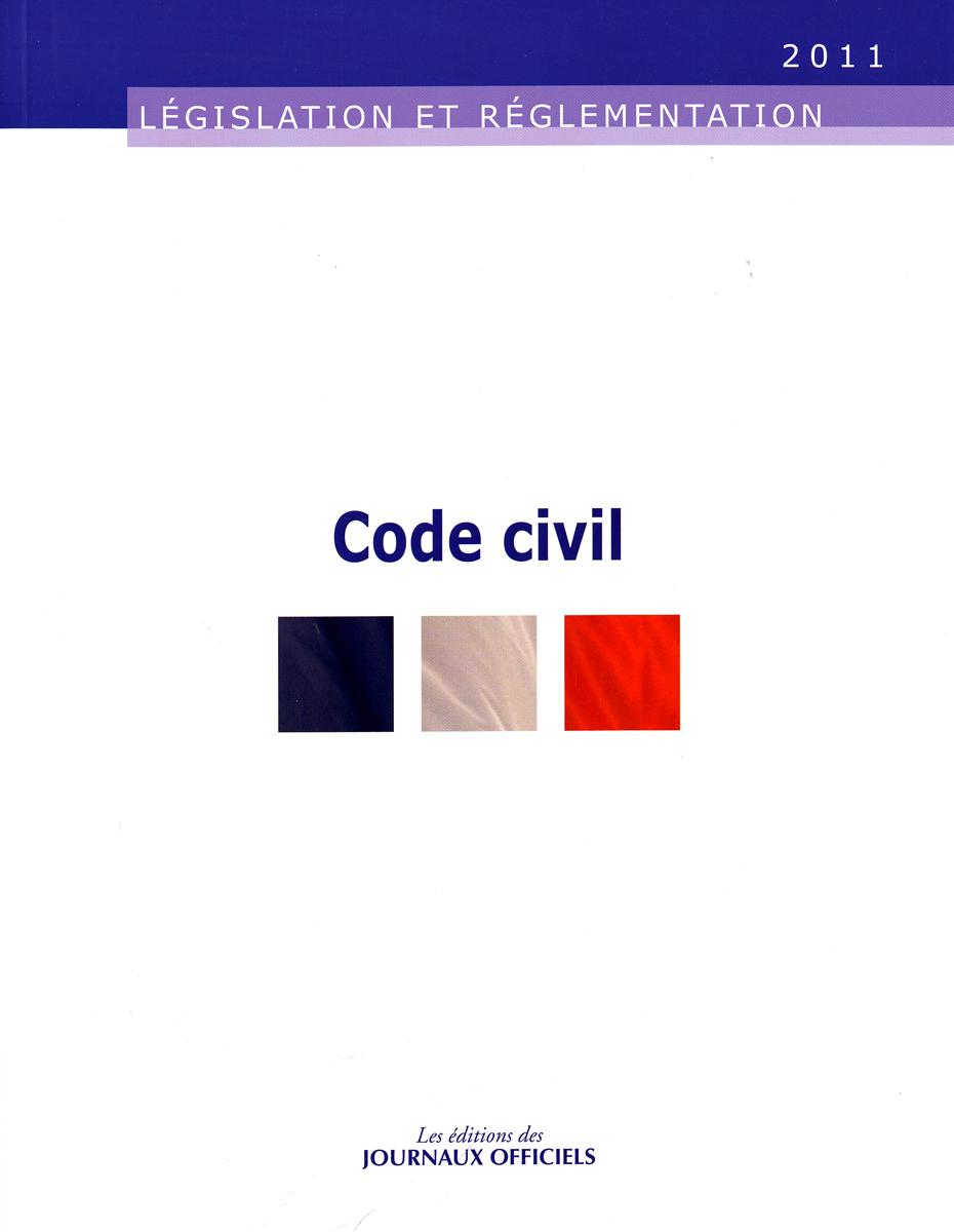 CODE CIVIL 2011 N 20031 - LEGISLATION ET REGLEMENTATION