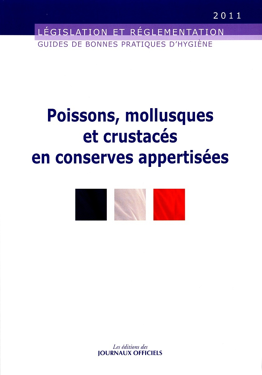 POISSONS, MOLLUSQUES ET CRUSTACES EN CONSERVES APPERTISEES N 5946 2011