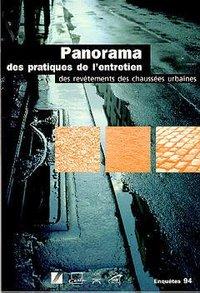 PANORAMA DES PRATIQUES DE L'ENTRETIEN DES REVETEMENTS DES CHAUSSEES URBAINES (ENQUETES 1994)