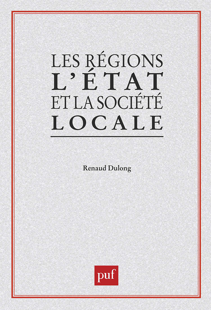 REGIONS ETAT ET SOCIETE LOCALE