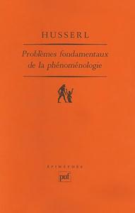 PROBLEMES FONDAMENTAUX DE LA PHENOMENOLOGIE