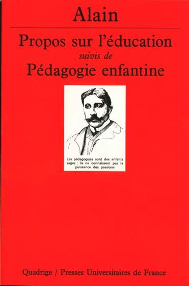 PROPOS SUR L'EDUCATION-PEDAG.ENFANT.