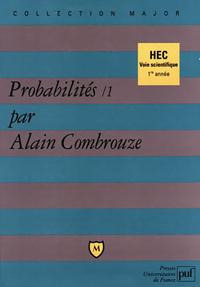 PROBABILITES. TOME 1