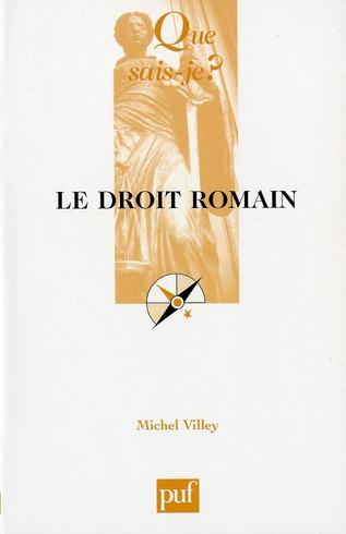 LE DROIT ROMAIN (10ED) QSJ 195