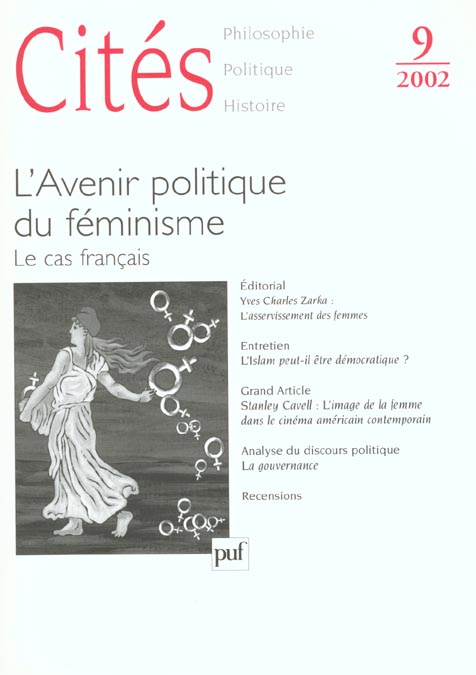 CITES 2002, N  09 - L'AVENIR POLITIQUE DU FEMINISME. LE CAS FRANCAIS