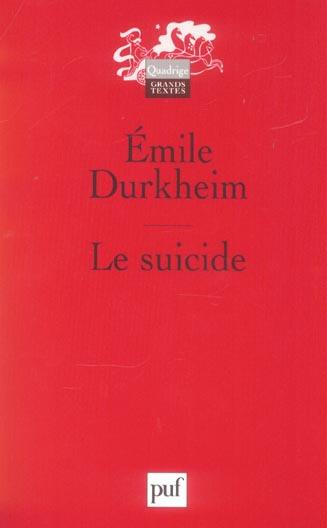 LE SUICIDE (12EME EDITION)