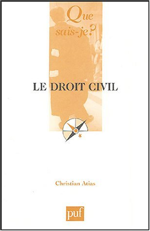 LE DROIT CIVIL (7ED) QSJ 2161