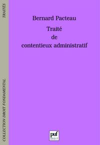 TRAITE DE CONTENTIEUX ADMINISTRATIF