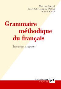 GRAMMAIRE METHODIQUE DU FRANCAIS (7E ED) (RELIE)