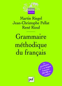 GRAMMAIRE METHODIQUE DU FRANCAIS (4ED) (BROCHE).