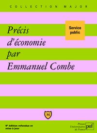 PRECIS D'ECONOMIE (9E ED) - SERVICE PUBLIC