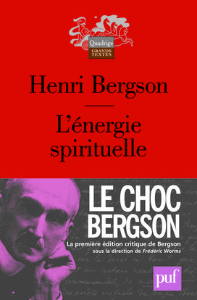 L'ENERGIE SPIRITUELLE (9E ED)