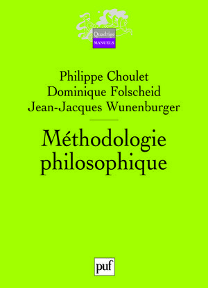 METHODOLOGIE PHILOSOPHIQUE (2ED)