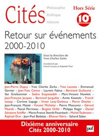 CITES 2010, N  HS (2) - RETOUR SUR EVENEMENTS 2000-2010