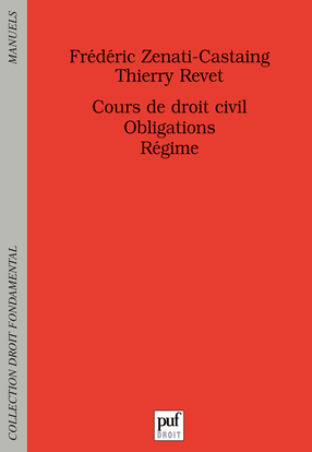 COURS DE DROIT CIVIL. OBLIGATIONS. REGIME
