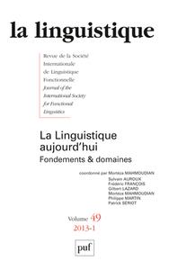 LINGUISTIQUE 2013, VOL. 49 (1) - VARIA