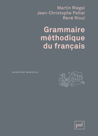 GRAMMAIRE METHODIQUE DU FRANCAIS (5ED).