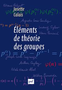 ELEMENTS DE THEORIE DES GROUPES