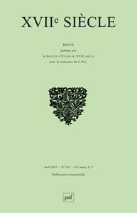XVIIE SIECLE 2015, N  267 - LA ROCHEFOUCAULD: ROUTES DIVERSES