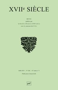 XVIIE SIECLE 2015, N  268 - CONNAITRE L'ORIENT EN EUROPE AU XVIIE SIECLE
