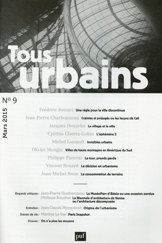 TOUS URBAINS N  9 (2015)