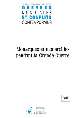 GUERRES MONDIALES ET CONFLITS CONTEMPORAINS 2016 N 264