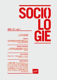 SOCIOLOGIE 2016, N  1