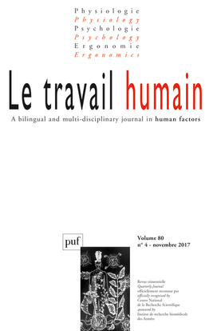 TRAVAIL HUMAIN 2017 VOL 80 N  4 (LE)