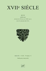 XVIIE SIECLE 2018, N  280 - LES RECITS D'ACCES AU SAVOIR AU XVIIE SIECLE