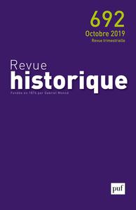 REVUE HISTORIQUE 2019 - N.692