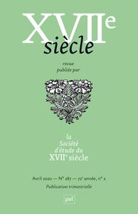 XVIIE SIECLE 2020, N.287