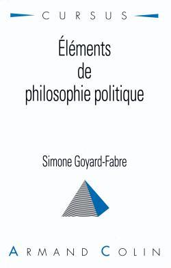 ELEMENTS DE PHILOSOPHIE POLITIQUE