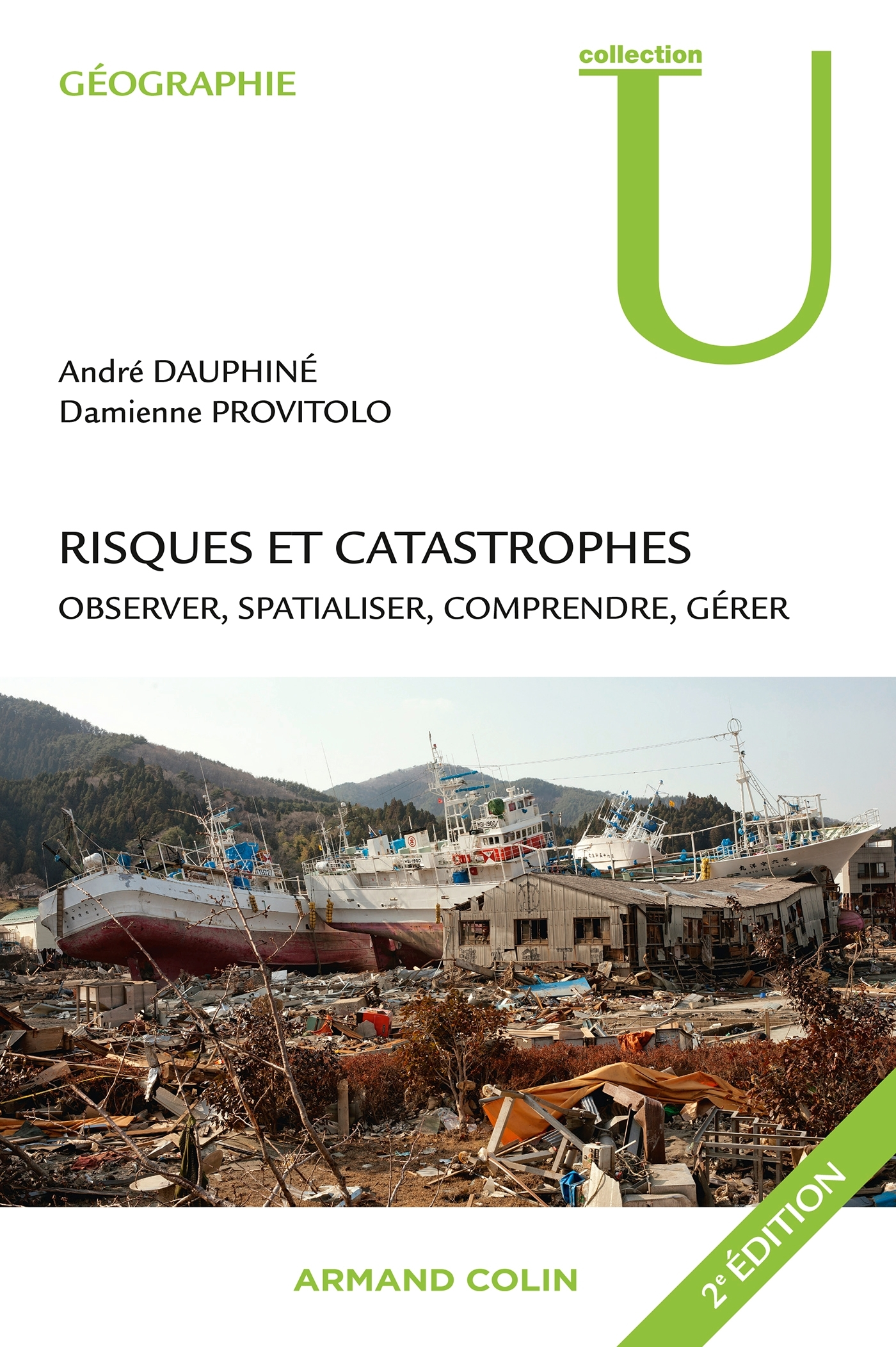 AMENAGEMENT ENVT-MD - T01 - RISQUES ET CATASTROPHES - OBSERVER, SPATIALISER, COMPRENDRE, GERER