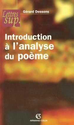 INTRODUCTION A L'ANALYSE DU POEME