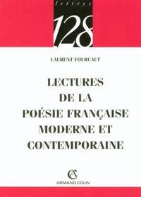 LECTURES DE LA POESIE FRANCAISE MODERNE ET CONTEMPORAINE