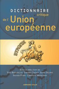 DICTIONNAIRE CRITIQUE DE L'UNION EUROPEENNE