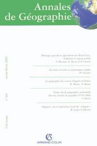 ANNALES DE GEOGRAPHIE - N  641 (1/2005)