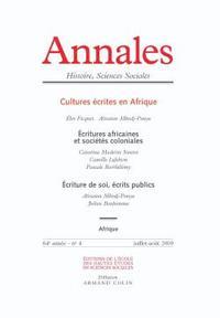 ANNALES. HISTOIRE, SCIENCES SOCIALES - VOL. 64 (4/2009)